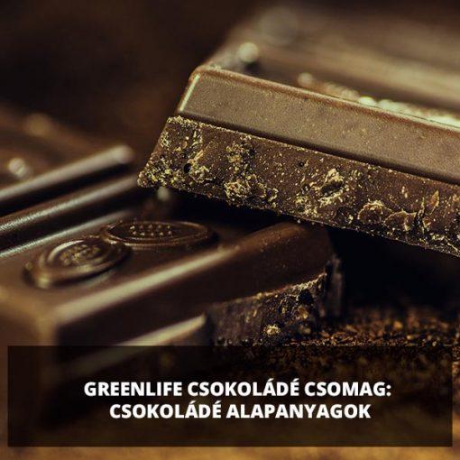 GreenLife csokoládé alapanyagok