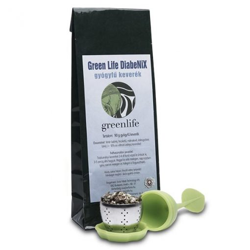 Green Life DiabeNiX gyógyfű keverék