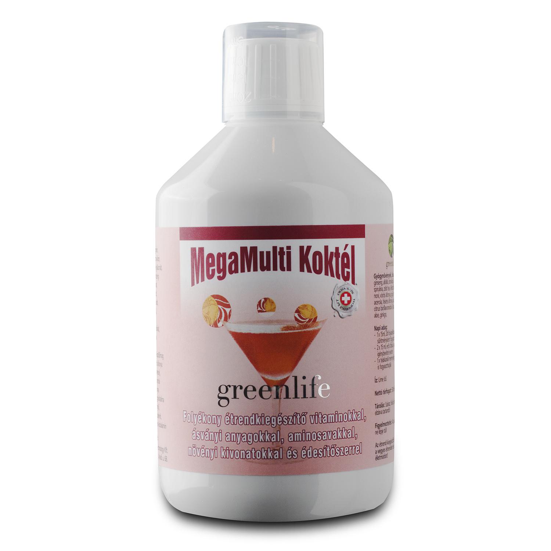 220c01f463 Green Life MegaMulti Koktél folyékony multivitamin ital - Greenlife.hu    Micro alga hatásaival a népbetegségek ellen